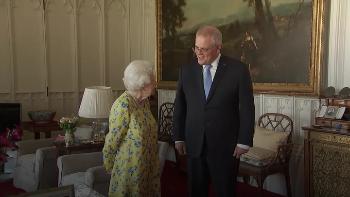 Australian prime minister tells Queen she was 'quite the hit' at G7 summit