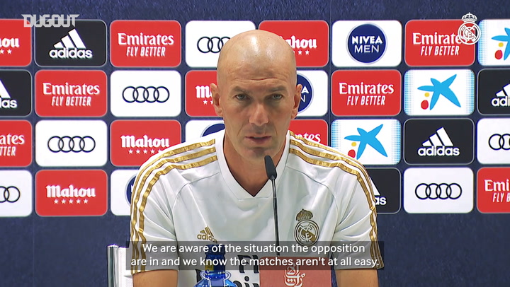 Zidane: 'We've got four games to go and it's another final against Alavés'