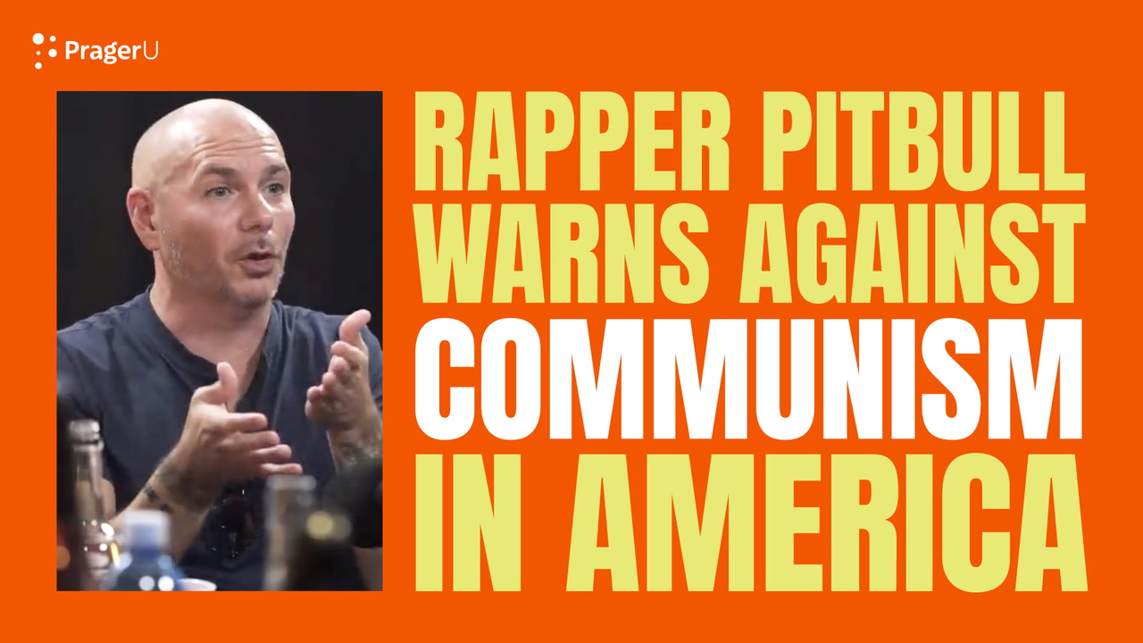 Rapper Pitbull Warns About Communism in America