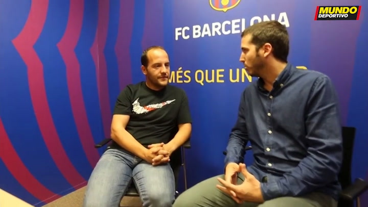 Entrevista con Lluís Cortés, técnico del FC Barcelona femenino