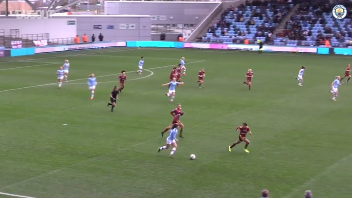 Laura Coombs scores in 10-0 win over Ipswich