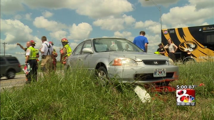 Columbia woman\'s car flipped on her birthday