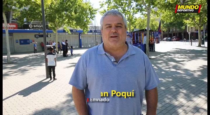 La previa del Getafe - Barça por Joan Poquí