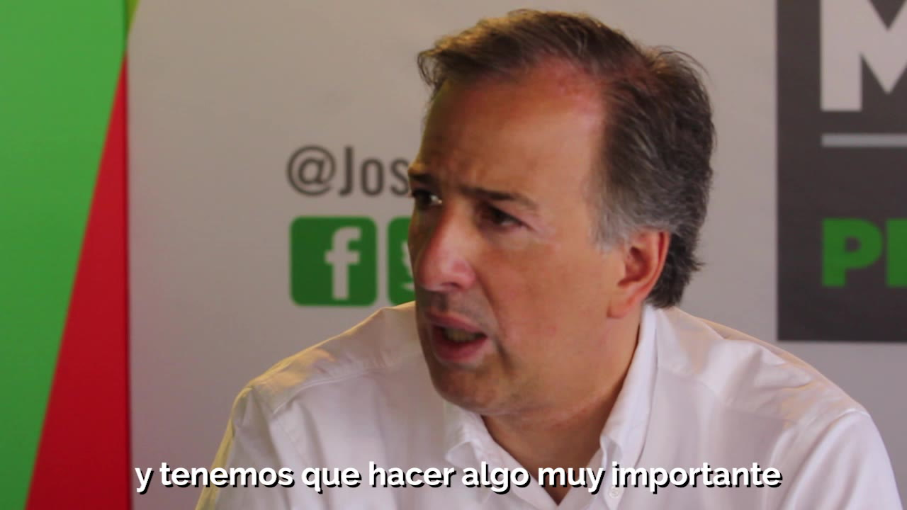Entrevista exclusiva con José Antonio Meade