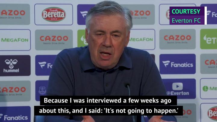 Ancelotti reveals he thought ESL plans were 'a joke'