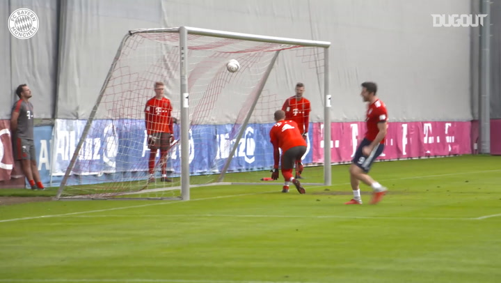 FC Bayern's Training Goals Of The Year #2
