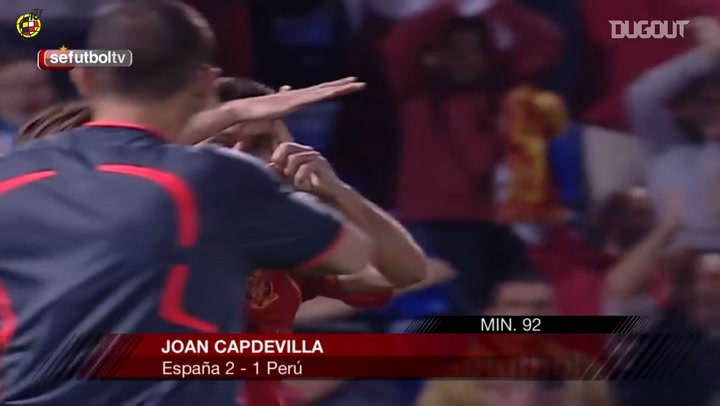 Joan Capdevila's injury-time winning volley
