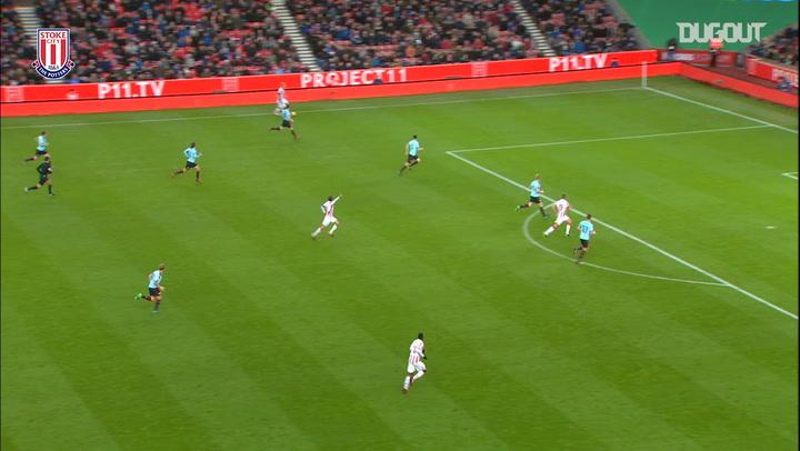 Team Goals: Muniesa Strikes Vs Burnley