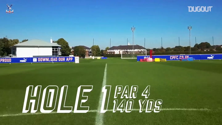 CPFC Footgolf Championship | Europe v Africa | Milivojevic, Ayew, Souare & Williams