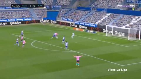 Alavés 1-1 Barcelona (Liga española)