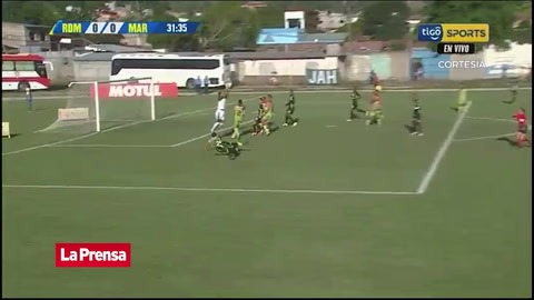 Video: Yustin Arboleda pone a ganar al Marathón ante Real de Minas