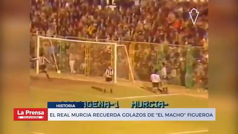 El Real Murcia recuerda golazos de