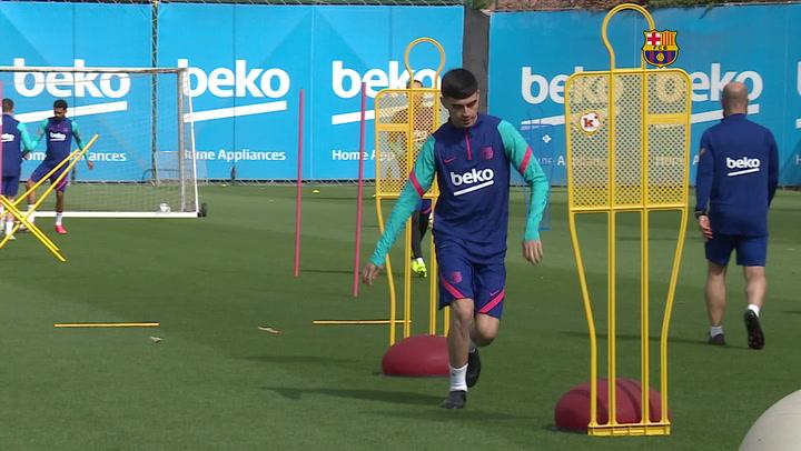 El Barça, con los cincos sentidos en la final de Copa