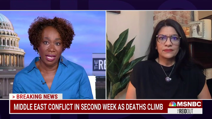 MSNBC's Reid: Americans Have 'No Empathy' for Palestinians -- 'Gaza Is a Prison'