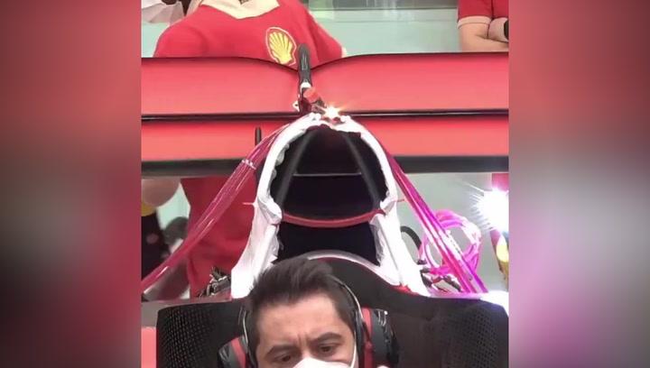 Así suena el nuevo Ferrari de Carlos Sainz para 2021
