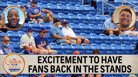 Cookie Club Crumbs: Dom Smith, J.D. Davis, Marcus Stroman pumped to have Mets fans back in stands