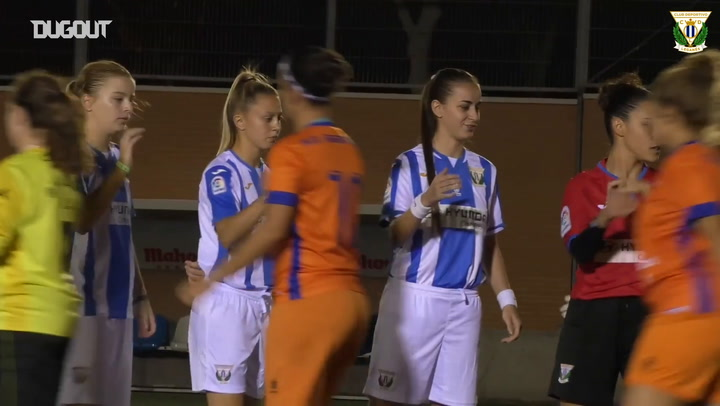 Club Deportivo Leganes' Historic first Senior Women's Match