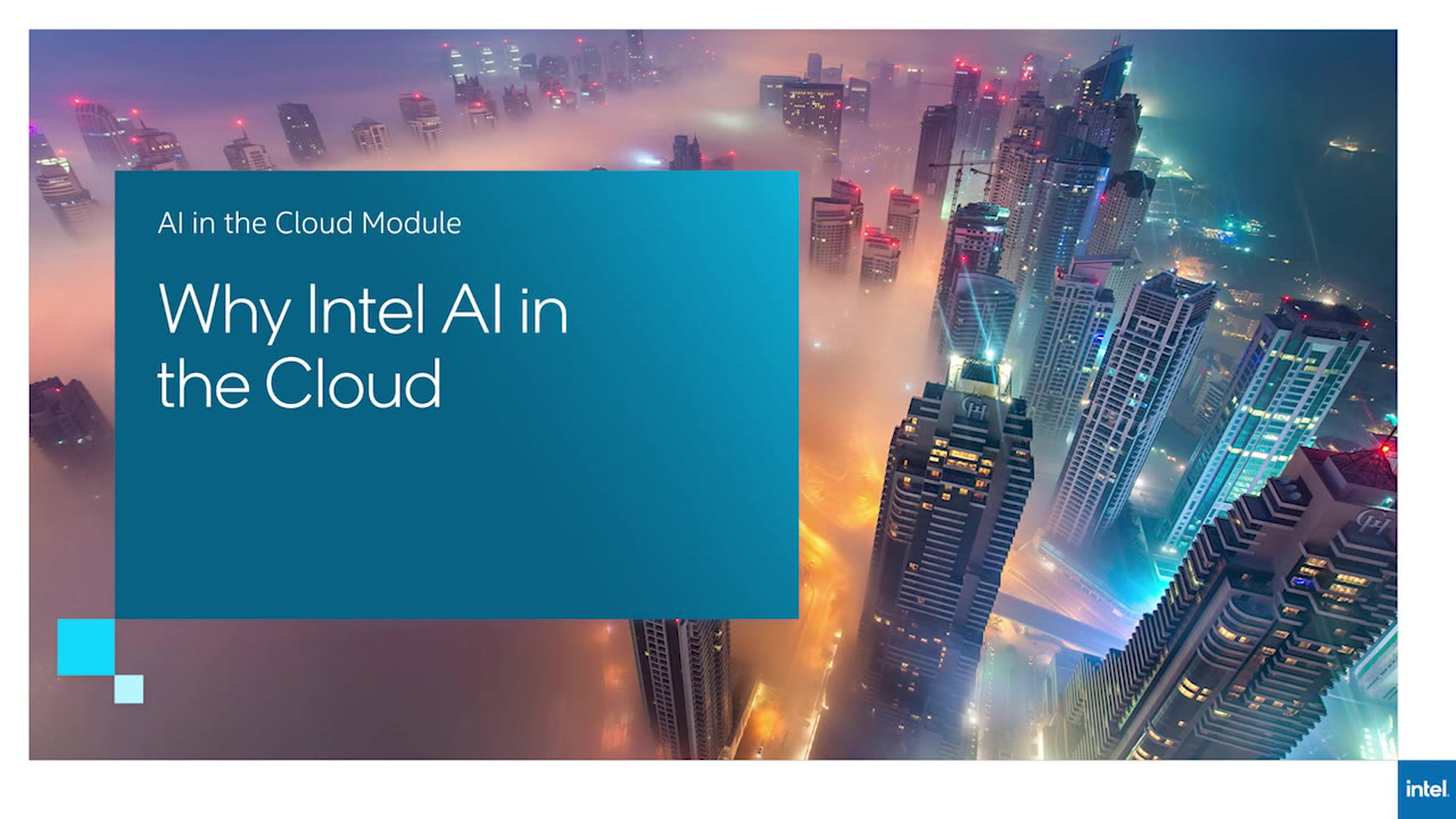 Chapter 1: Why Intel AI in the Cloud