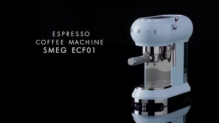 Preview image of Smeg's 50's Style Espresso Coffee Machine video