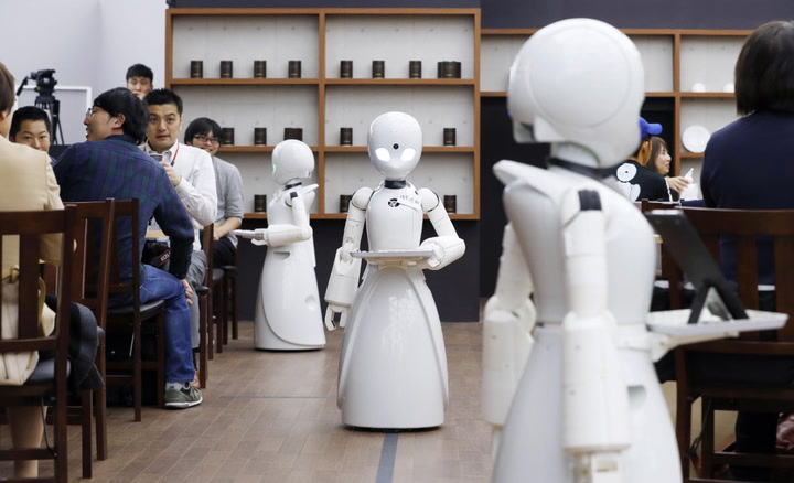 Japan's Robot Cafe Is Serving Up Jobs To People With Disabilities | A Plus Video