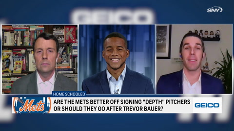 Are the Mets better off signing depth pitchers or going all out for Trevor Bauer?