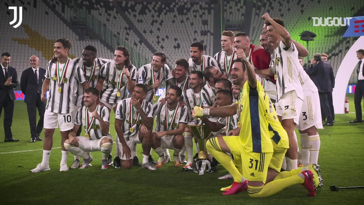 Behind the scenes of Juventus' title win