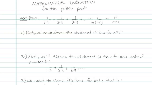 Mathematical Induction - Problem 5