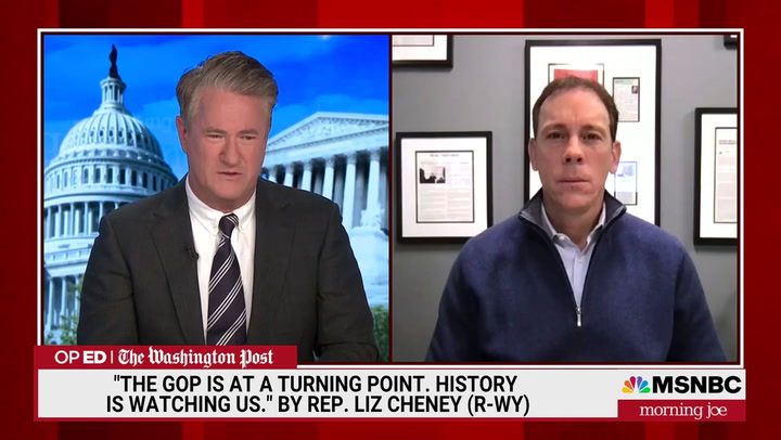 Scarborough: GOP Making Liz Cheney an Alternative Conservatives Like Me Could Vote for