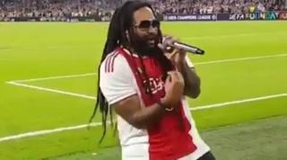 Hijo de Bob Marley se hace viral tras brindar un concierto en la Champions