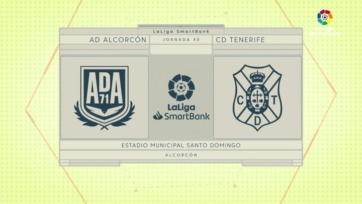 LaLiga SmartBank (J40): Resumen del Alcorcón 0-0 Tenerife