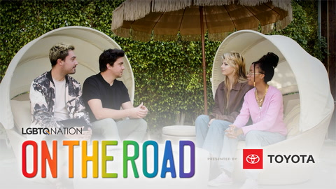 LGBTQ Nation's ON THE ROAD: Palm Springs with Ariana & Hannah