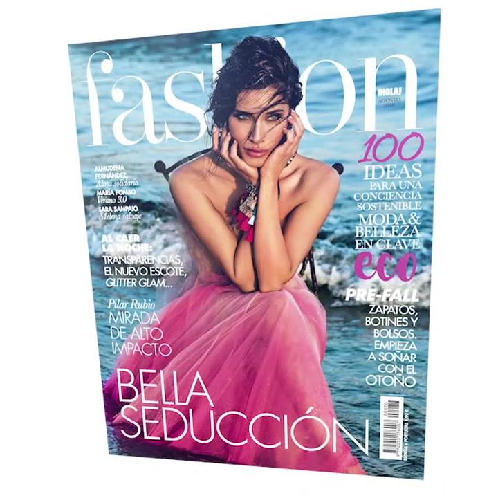 Pilar Rubio, una mirada de alto impacto en el nuevo Fashion de agosto