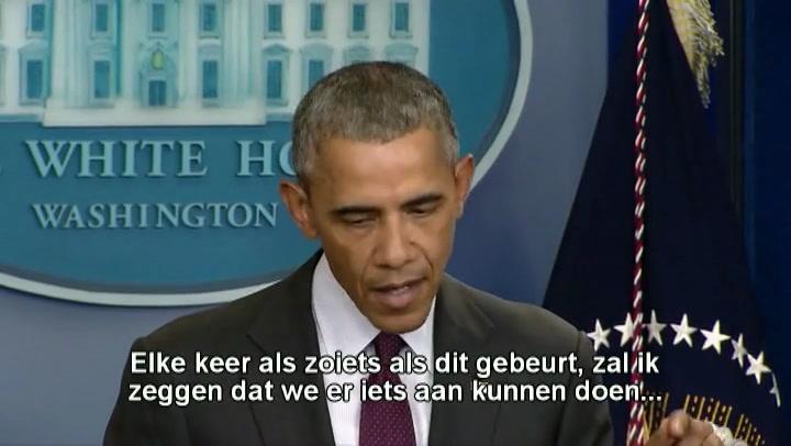 Obama pleit voor strengere wapenwet