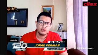 Jorge Fermán de DIEZ a los colegas ticos de Deporte Monumental: