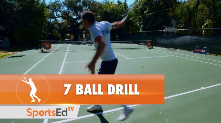 THE 7 BALL DRILL - Master This Baseline Pattern To Win