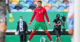 Cristiano Ronaldo adelanta a Portugal desde la vía penal ante Francia