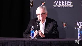 Vegas Golden Knights introduce head coach Gerard Gallant