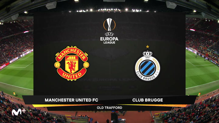 Europa League: Manchester United-Brujas