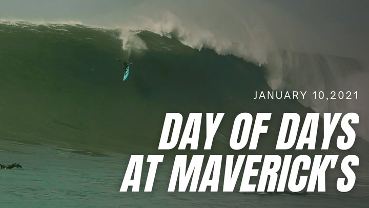 Sachi Cunningham documents a day of days at Maverick's during an epic run of swell.