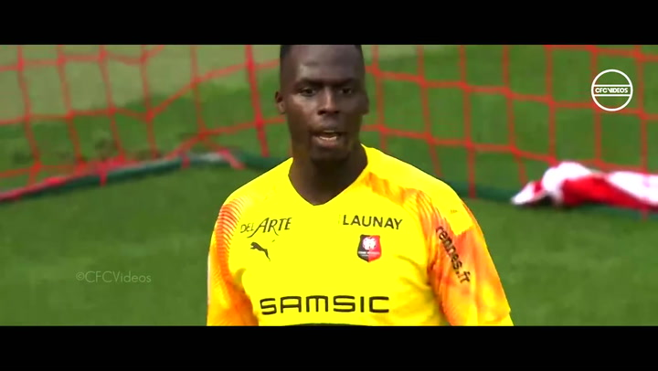 Así juega Edouard Mendy, guardameta del Rennes