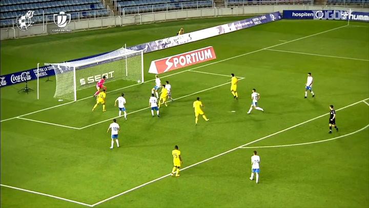 El gol de tacón de Fer Niño en el 89' que clasificó al Villarreal