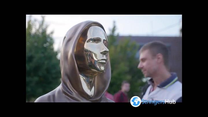 Bitcoin founder Satoshi Nakamoto honoured with statue in Budapest, Hungary