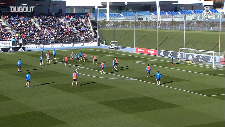 Real Madrid's Best Training Goals Of The Week #1