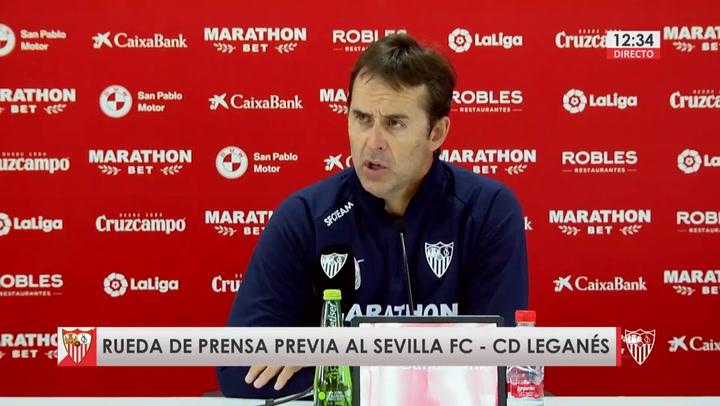 """Lopetegui no se fía del colista: """"El Leganés es un buen equipo"""""""