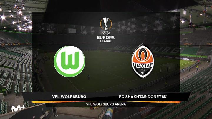 Europa League Resumen del Wolfsburg-Shakhtar