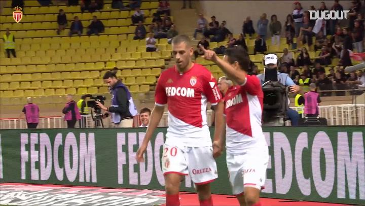 Ben Yedder's goals vs Nice with Monaco