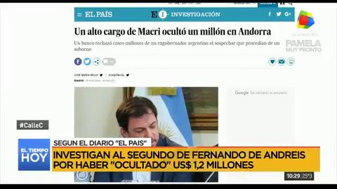 Negri pidió que aparten al funcionario que ocultó dinero en Andorra