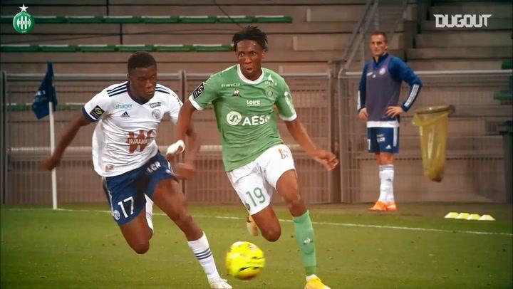 Yvan Neyou's impressive start at Saint-Etienne