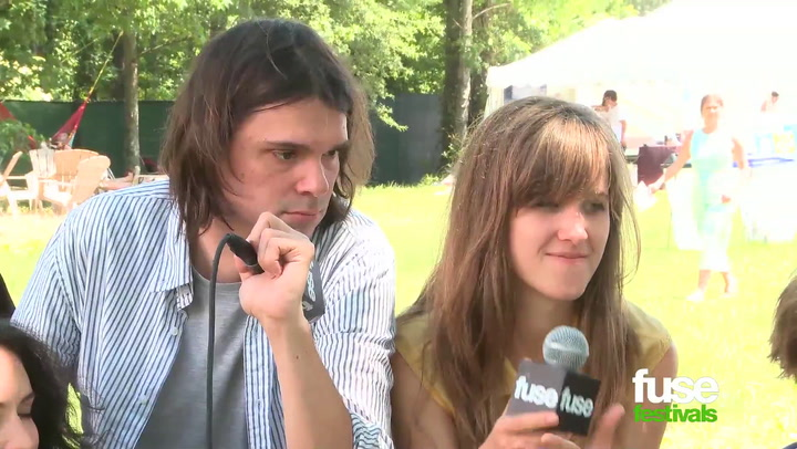 How Did Dirty Projectors End Up Collaborating with J. Cole? @ Bonnaroo 2013