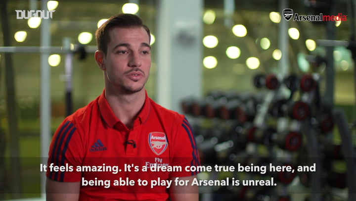 Cedric Soares' first Arsenal interview